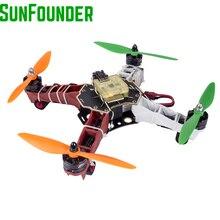 SunFounder Q250 FPV Drone 4-Axis RC Helikopter Quadcopter Bingkai Kit CC3D Dron Controller ESC15 Motor MT2204 2300KV Profesional