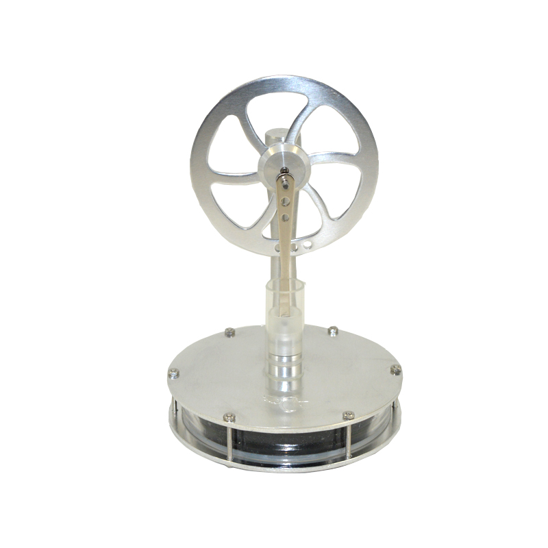 Modello di motore Stirling a bassa differenza di temperatura di palma protezione ambientale regalo creativo connessione magnetica giocattoli fisica