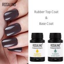 Гель-лак ROSALIND, 30 мл, базовое верхнее покрытие, Гель-лак для ногтей, Полупостоянный Гель-лак для ногтей, для маникюра, УФ-светодиодный, впитывающий гель для ногтей