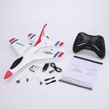 新デザイン 290 ミリメートル翼幅 epp rc 固定翼飛行機 rtf 2.4 グラム 2CH グライダーモデル FX 823
