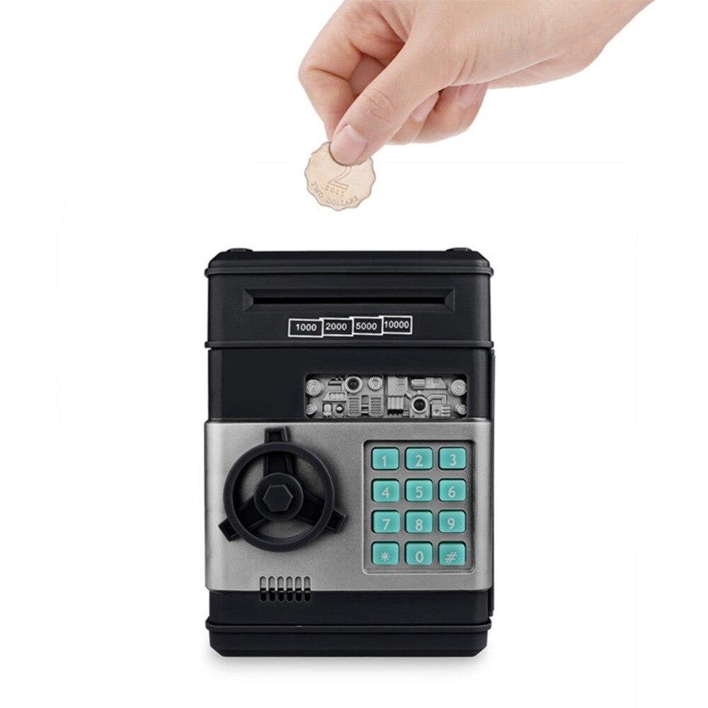 Sparschwein ATM Passwort Geld Box Automatische Elektronische Piggy Bargeld Münze Sparen Box ATM Bank Sicher Box Anzahlung Banknote