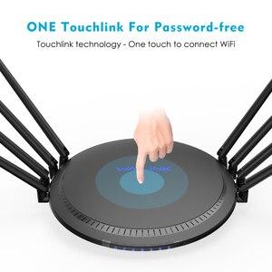 Image 3 - Wavlink מלא Gigabit AC3000 אלחוטי wifi נתב/משחזר MU MIMO tri band 2.4/5Ghz חכם Wi Fi נתב touchlink USB 3.0