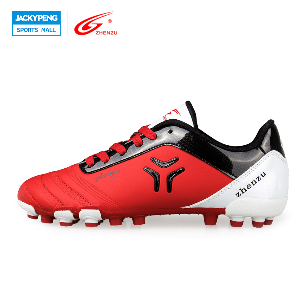 ZHENZU 2016 New Men Teenagers Soccer Shoes A Artifial round Football Boots Professional Sports Shoes, Size 36-44 kelme 2016 new children sport running shoes football boots synthetic leather broken nail kids skid wearable shoes breathable 49