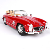 1:18 Collectible Die Cast Car Models Toys for Chldren Static Alloy Auto Vehicle Mobile Sports Car mkd3 1957 BENZ 300SL Roadster