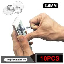 10 шт. Сильный прозрачный крючок присоска телефон ЖК-экран с отверстием для разборки инструменты для кухни аксессуары для ванной комнаты