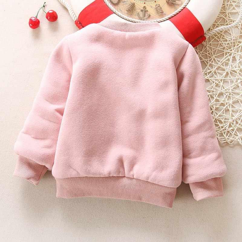 בנות בני ילדים ילדי חורף חג מולד סוודר להאריך ימים יותר חולצות זיעה עבה תינוק בתוספת קטיפה עבור בנות חג המולד