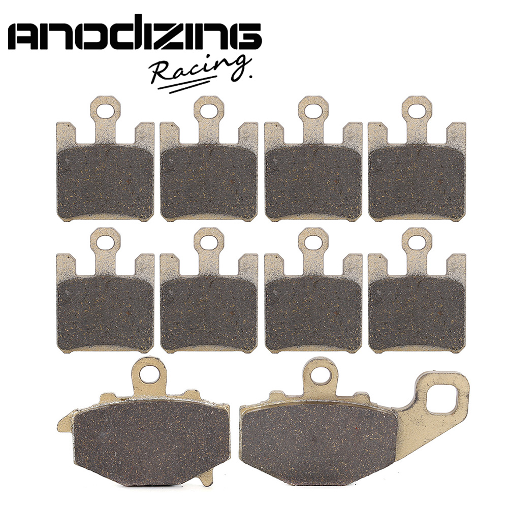 Motorcycle Front and Rear Brake Pads For KAWASAKI ZX6R ZX-6R NINJA ZX636 2003-2006 2004 2005