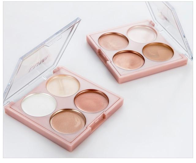 Красота Макияж Shimmer хайлайтер косметика для лица прессованная пудра Выделите палитру Shadow Repair capacity Paste Brighten Skin new