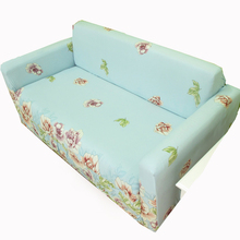 Tight all-inclusive universal stretch elastic floral sofa cover polyester fabric Single/Two/Three/Four-seater cooling sofa cover