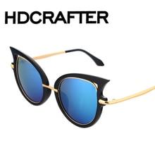 Polarized Cat Eye Glasses New Vintage Fashion Summer Cool Sunglasses Women Men Brand Designer