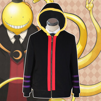 Korosensei Cosplay Hoodies Anime Cosplay Costumes Unisex Daily Hoodies Adult Coat Casual Top Assassination Classroom Jacket