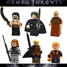 60pcs starwars superhero marvel Game of Thrones Collection building blocks bricks hobby interesting toys for kids speelgoed
