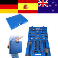 110pcs/set M2-M18 Tap Wrench Screw Nut Thread Taps Dies Holder With Wrench Handle Heavy Duty Hand Tool