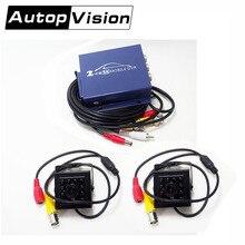 TAOCAN680 2CH DVR система видеонаблюдения 2 шт AHD мини камера ночного видения s 2CH камера безопасности AHD CCTV DVR 1200TVL комплект видеонаблюдения