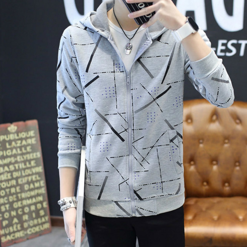 Jackets Men Long Sleeve Zipper High Quality Comfortable Mens Korean Style Clothes Ulzzang Daily All Match Males Coat and Jacket 32