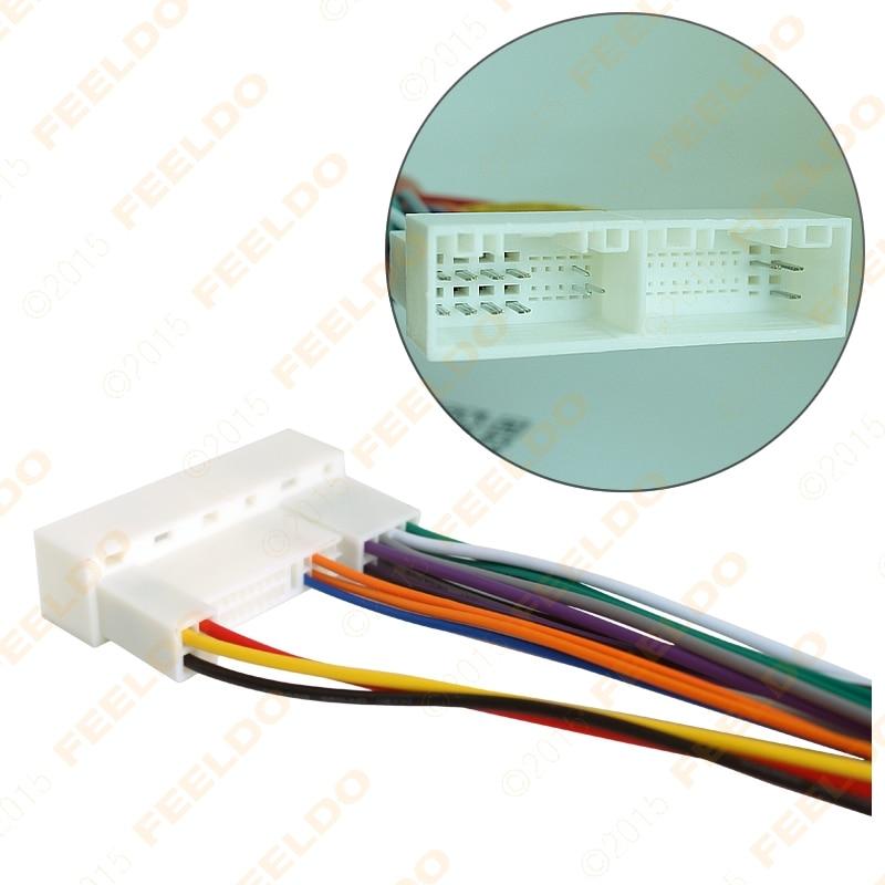 2016 hyundai sonata stereo wiring diagram 1965 ford mustang headlight feeldo 10pcs car radio harness adapter plug for ix35 elantra santa fe cd dvd installation in cables adapters sockets