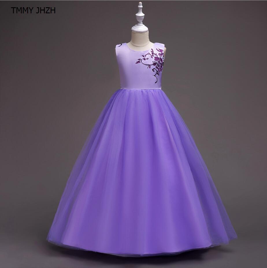 Aliexpress.com : Buy Clothes Long Gown Children Lace Princess Girl ...
