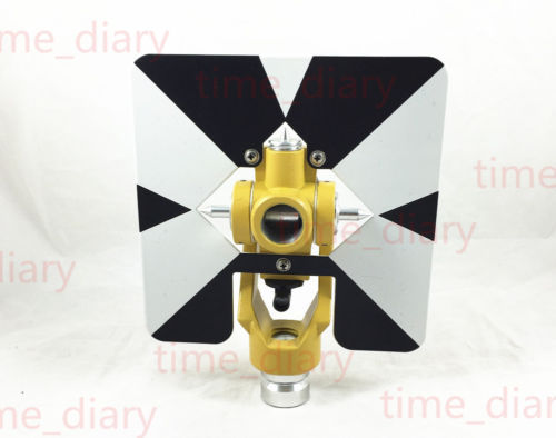 New Replace Topcon Prism Target for TOPCON total station surveying offset 0mm offset 0mm single prism for leica type total stations with soft bag surveying