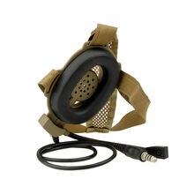 цена на Bowman Evo Iii Heavy Headset With Tci Ptt Z029 Headphones For Kenwood Baofeng Uv-5R Gt-3 Uv82 Wouxun