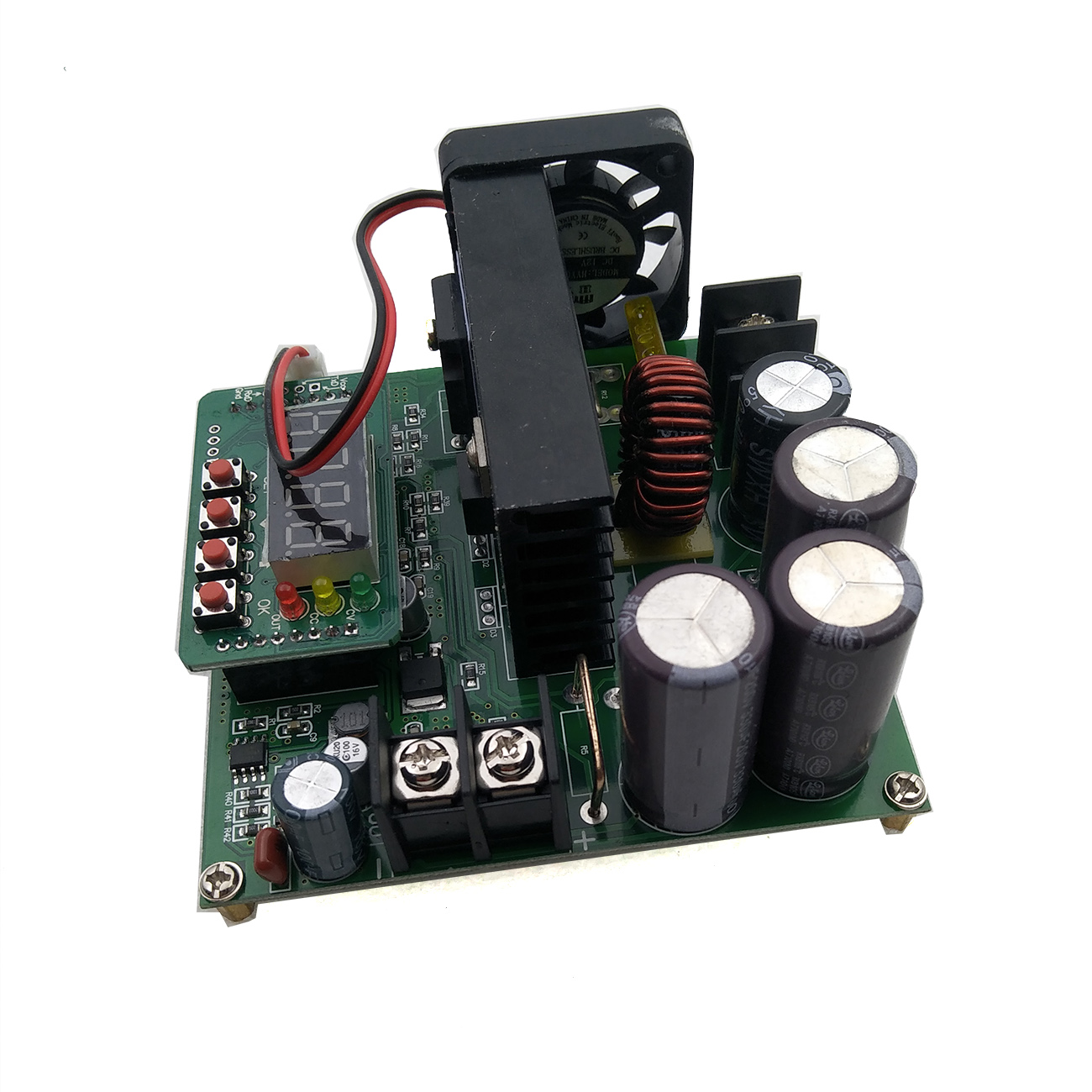 Image 2 - 5pcs/lot B900W adjustable impulse module Current Transformer Voltage Regulator Module Input Constant 8 60v to 10 120v 900w-in Integrated Circuits from Electronic Components & Supplies