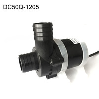 Mini Water Pump Brushless DC 12V 70W Submersible Pumps for Fish Tank Aquarium Fountain Pond Hydroponic M25