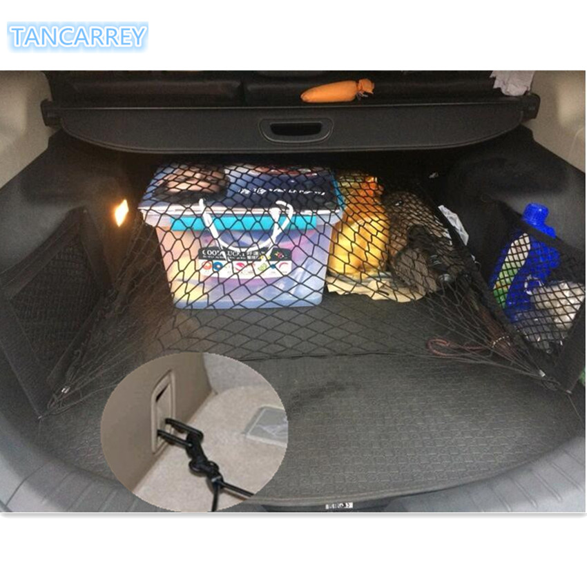 new ho Car Trunk Cargo Mesh Net Luggage For mini cooper r56 kia sportage <font><b>2017</b></font> vw tiguan <font><b>2017</b></font> <font><b>peugeot</b></font> <font><b>208</b></font> passat accessories image