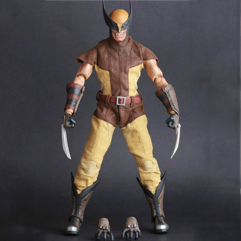 New 30cm X-men Wolverine James Logan Howlett Figure Scale Painted Variant Anime Pvc Action & Toy Figures Model Collection passive activity rules – law