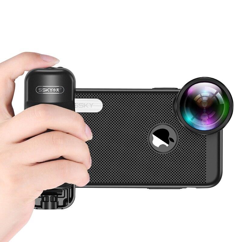 Ulanzi Booster Pega Bluetooth Foto Stablizer Titular Selfie com Obturador para o iphone X 8 7 Xiaomi Huawei Samsung