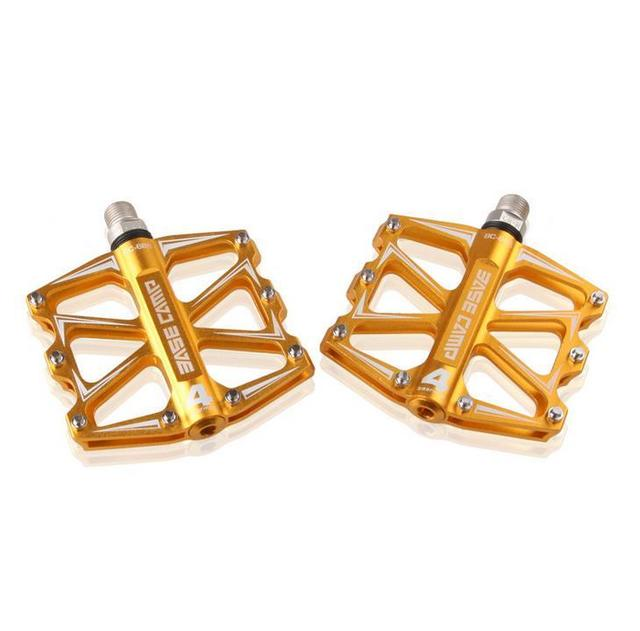 Brand Ultralight Slip-resistant Aluminum Alloy 4Ball Bearing Pedals One Pair Multi-color MTB Pedal Mountain Bicycle Road Bike