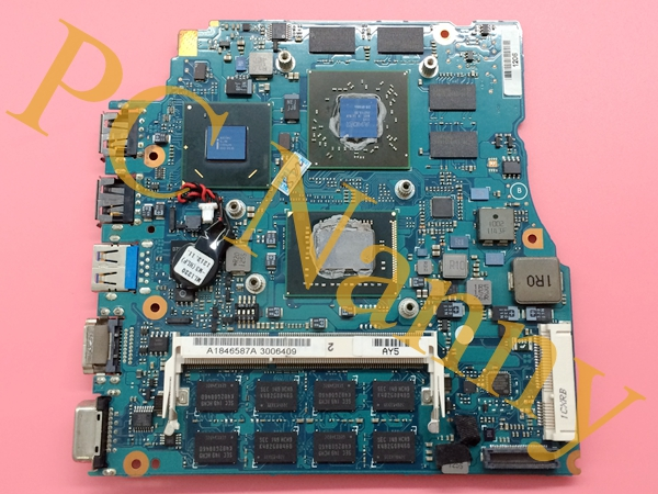 A1846587A VPCSA35GG mbx-237 For Sony Vaio 13.3 Laptop Motherboard System Board with Core i7-2640M 2.80 GHz