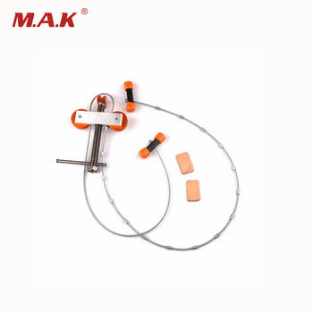 Black Color Aluminum Bow Press Small Bowmaster 22.2*15.8*2 cm Portable Bow Press Archery Tool for Compound Bow Hunting Archery