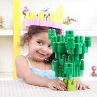 Children S Building Blocks Toys Assembling Toys Monster House Rocket Building Blocks Figure Toy For Children