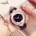 Роскошные блестящие стразы со стразами женские часы женские изысканные кожаные часы saat relogio feminino
