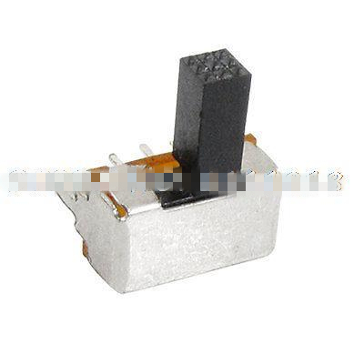 Detent FREE SHIPPING CW Miniature Slide Switch Panel Mount .5 amp DPST