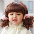 Маленькие дети парики волос с короткими вьющимися волосами младенцев малыш парики волнистые короткие аккуратные удары прекрасные милые популярные детский волосы парики