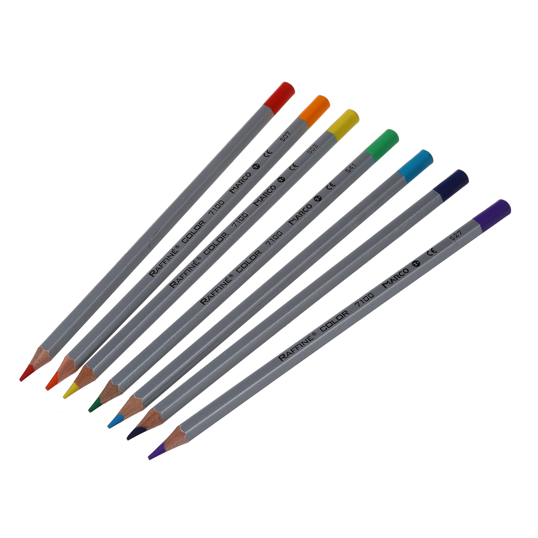 Marco Fine 72Color Art Drawing Oil Base Non-toxic Pencils Set For Artist Sketch