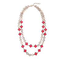 New Design Alloy Gold Chain Geometric Large Necklace Collier Femme Online Shopping India Collar Necklace