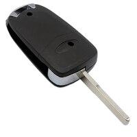 remote key WhatsKey Folding Key 3 Button Modified Flip Remote Key Shell Fob Case For Ford Mondeo Focus Festiva KA C Max Mondeo With Logo (2)