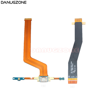 цена на USB Charging Port Connector Charger Dock Flex Cable For Samsung Galaxy Note 10.1