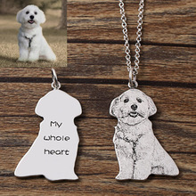Pet Pedant Necklaces with Customization