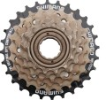 shimano bicycle 6 speed freewheel cassette 6 speed tz20 free wheel 14 to 28 tonnes for road bike bicycle