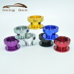 51MM Height High Quality Aluminum Racing Quick Release Steering Wheel Hub Adapter Snap Off Boss Kit
