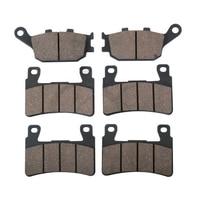 6 PCS Motorcycle Rear Front Brake Pads For HONDA CBR 600 RR 03 04 CBR 600