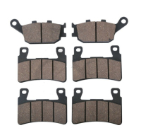 6 PCS Motorcycle Rear Front Brake Pads For HONDA CBR 600 RR 03 04 CBR 600