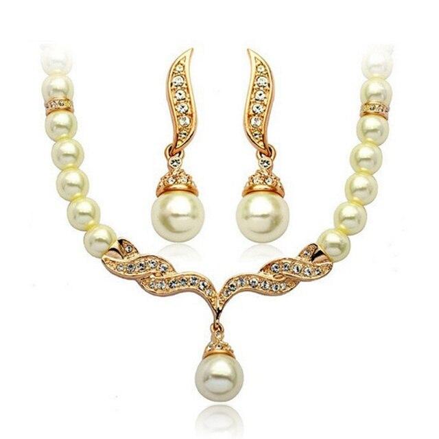 Modeschmuck gold set  Aliexpress.com : Afrikanische perlen schmuck gold set ...