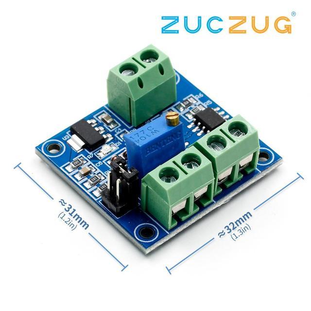 Voltage to PWM Converter Module 0 5V 0 10V to 0 100% New