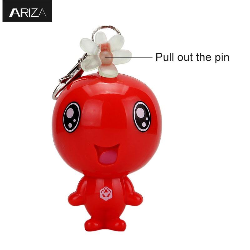 Ariza 120db Self Defense Personal Emergency Alarm Panic Keychain Alarm Anti-attack Security Alarm For Students Women