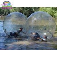 2 м надувные ПВХ воды гуляя, бассейна водный шар zorb Надувные людской Пластик мяч