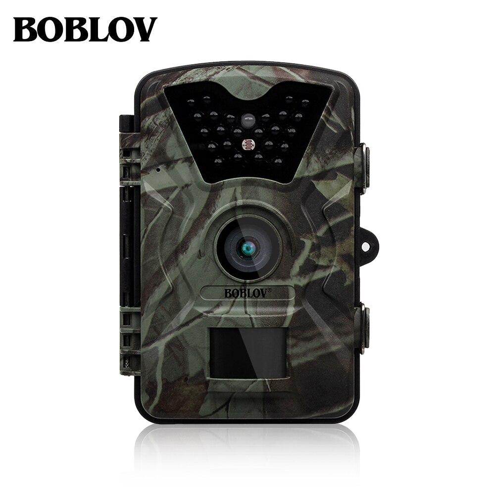 Boblov CT008 12MP 1080 P Chasse Piste Caméra Ferme de La Faune Jeu scoutisme Cam Vision Nocturne Avec Accéléré 65ft 90 Degrés PIR