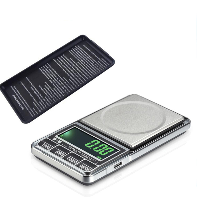 best sale jewelry scales weigh digital lcd display electronic pocket scale 100001g usb - Best Bathroom Scale